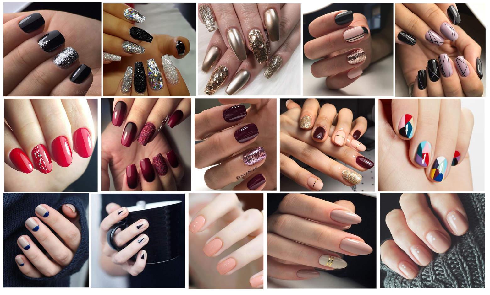 trendy w manicure na jesień 2017