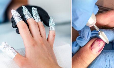 Metody usuwania lakieru hybrydowego